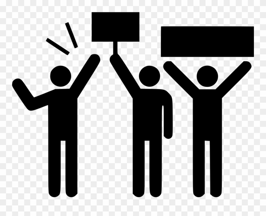 Clipart protest clip art transparent library Protest Strike Demonstration Demonstrator Comments - Protests ... clip art transparent library