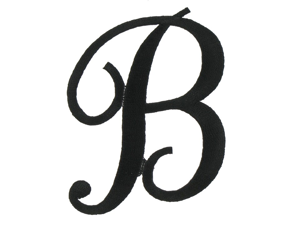Black and white clipart design letter b vector royalty free download Black and white clipart design letter b - ClipartFest vector royalty free download