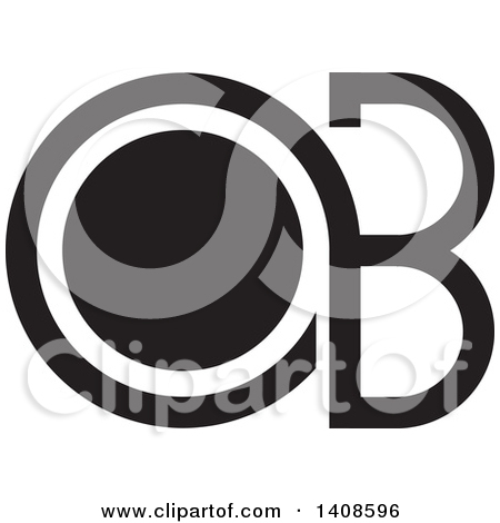 Black and white clipart design letter b png free download Clipart of a Black and White Abstract Lowercase Letter a and Gride ... png free download