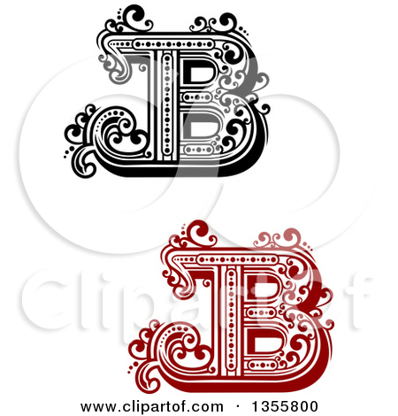 Black and white clipart design letter b png black and white download Royalty Free Letter B Illustrations by Vector Tradition SM Page 1 png black and white download