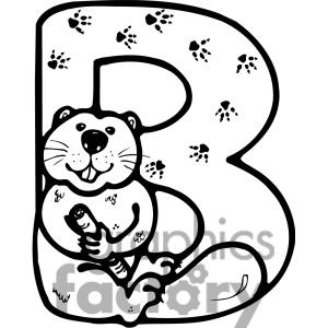 Black and white clipart design letter b vector freeuse stock Black and white clipart design letter b - ClipartFox vector freeuse stock