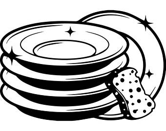 Black and white clipart dishes im dishwasher jpg Dishwasher Clipart | Free download best Dishwasher Clipart on ... jpg