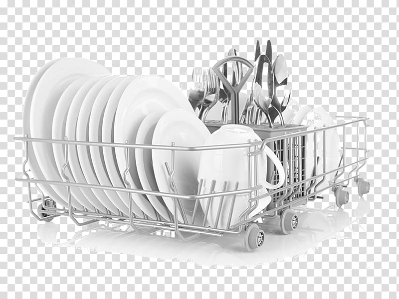 Black and white clipart dishes im dishwasher jpg black and white download Tableware Dishwasher Washing, Plate transparent background PNG ... jpg black and white download