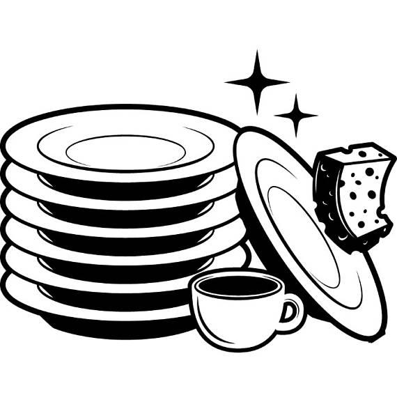Black and white clipart dishes im dishwasher image free Dishwasher Clipart | Free download best Dishwasher Clipart on ... image free