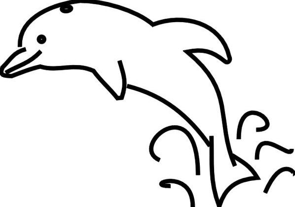 Dolphin Clipart Black And White Free Awesome Magnificent 4 | www ... clip art black and white download