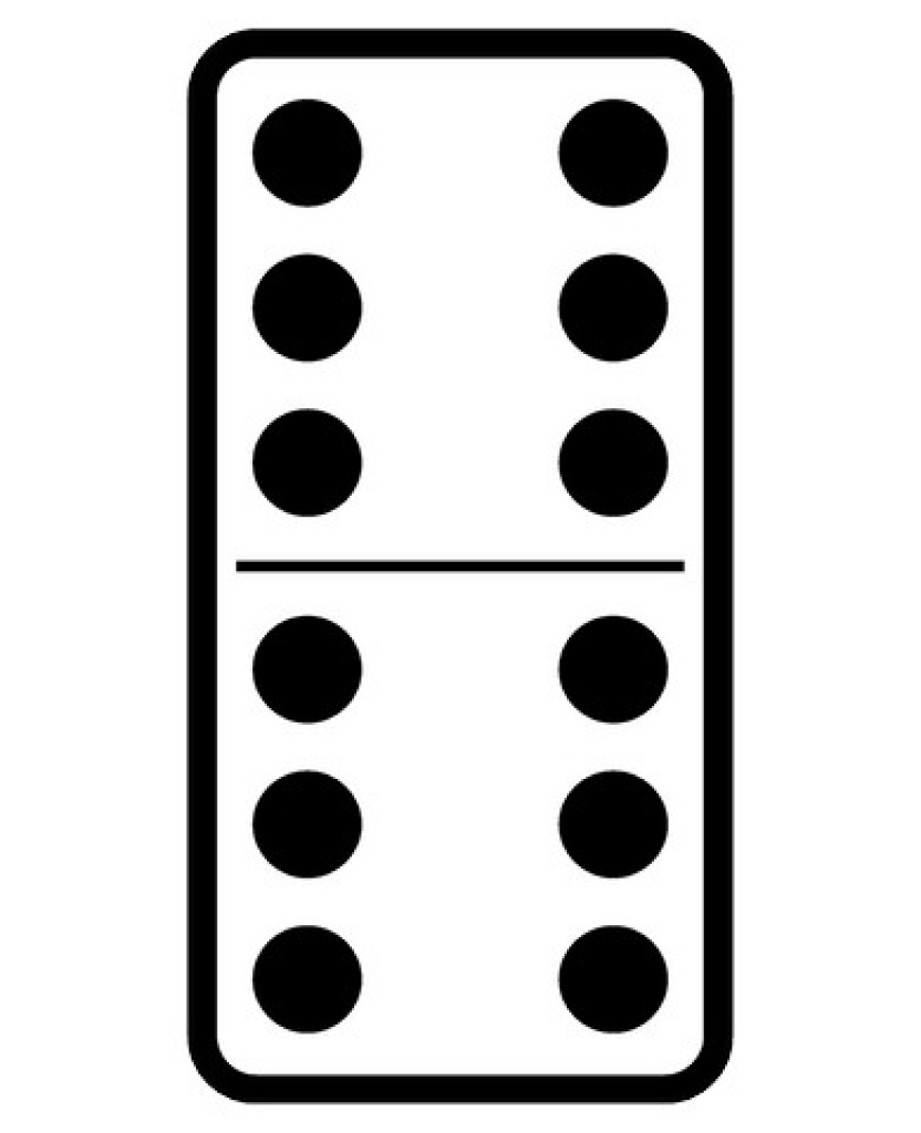 Black and white clipart domino dots picture library Domino Clipart | Free download best Domino Clipart on ClipArtMag.com picture library