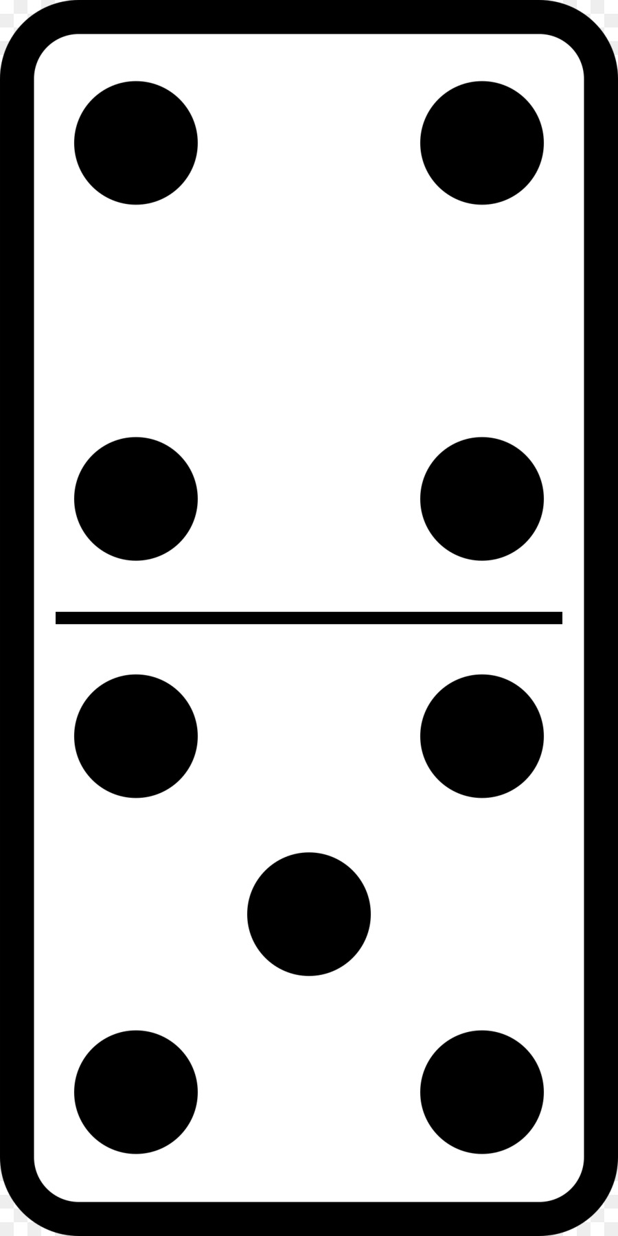 Black and white clipart domino dots picture royalty free download Black Line Background clipart - White, Black, Pattern, transparent ... picture royalty free download