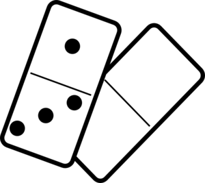 Domino clipart black and white svg library download Falling Dominoes Clip Art at Clker.com - vector clip art online ... svg library download