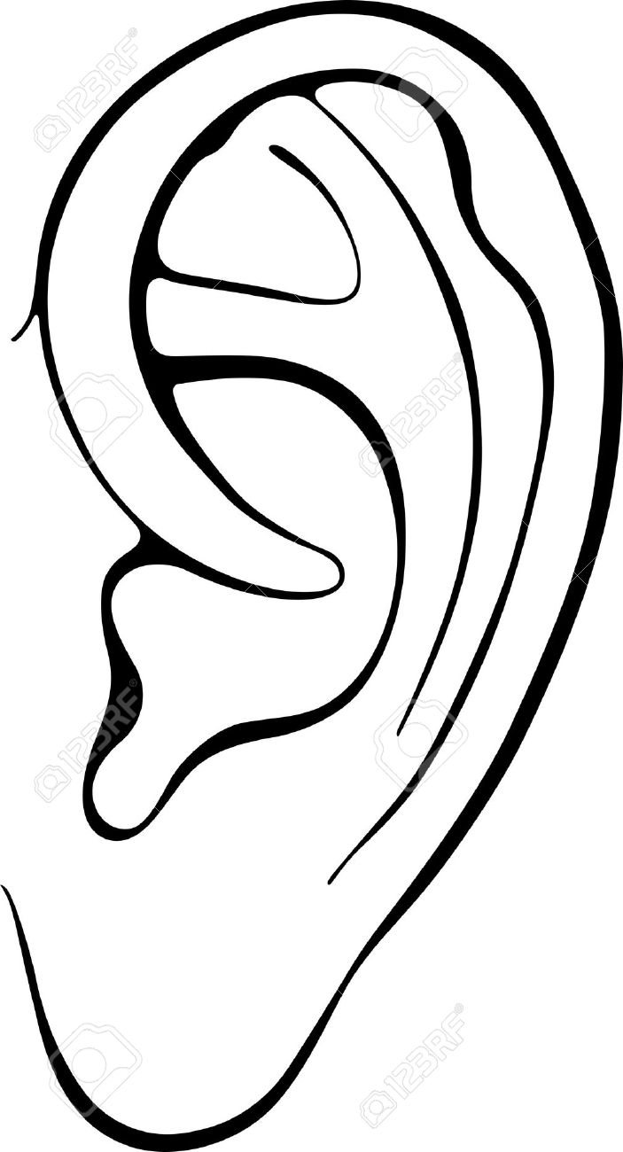 Black and white clipart ear svg download Image Of The Ear Clipart | Free download best Image Of The Ear ... svg download