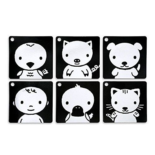 Black and white clipart face for infant stimulation clipart free download Black, White & Red Infant-Stim Clip Along High Contrast Flash Cards for Baby clipart free download