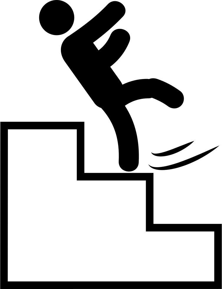 Black and white clipart falling down stairs svg freeuse stock Png Falling Down Stairs & Free Falling Down Stairs.png Transparent ... svg freeuse stock