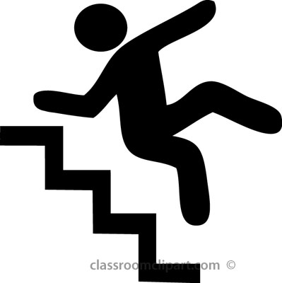 Black and white clipart falling down stairs png transparent stock Fall Down Clipart Black And White png transparent stock