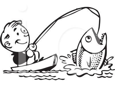 Black and white clipart fisherman clip art freeuse Fishing Clip Art Black And White | Clipart Panda - Free Clipart Images clip art freeuse