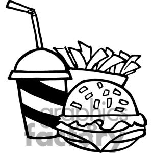 Black and white meal clipart image royalty free library Food Clipart Black And White | Clipart Panda - Free Clipart Images image royalty free library