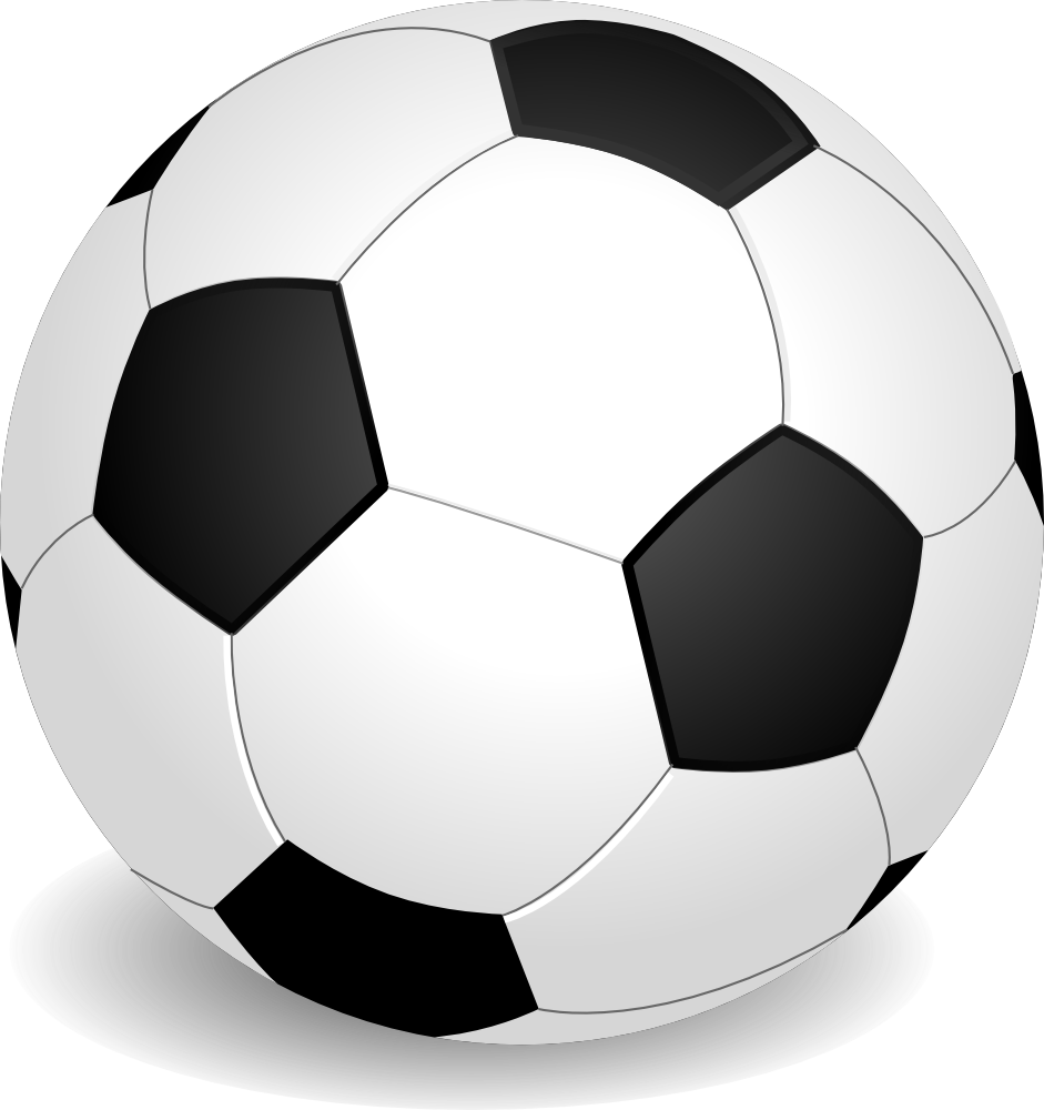 Football black and white clipart freeuse stock OnlineLabels Clip Art - Football (Soccer) freeuse stock
