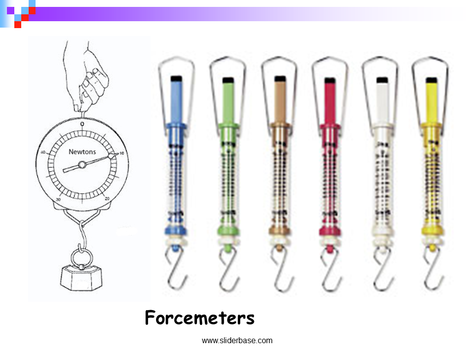 Black and white clipart forcemeter png free download Gravity and Other Forces - Presentation Astronomy - SliderBase png free download