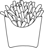 Fries black and white clipart image black and white download Collection of 14 free Fry clipart black and white aztec clipart ... image black and white download