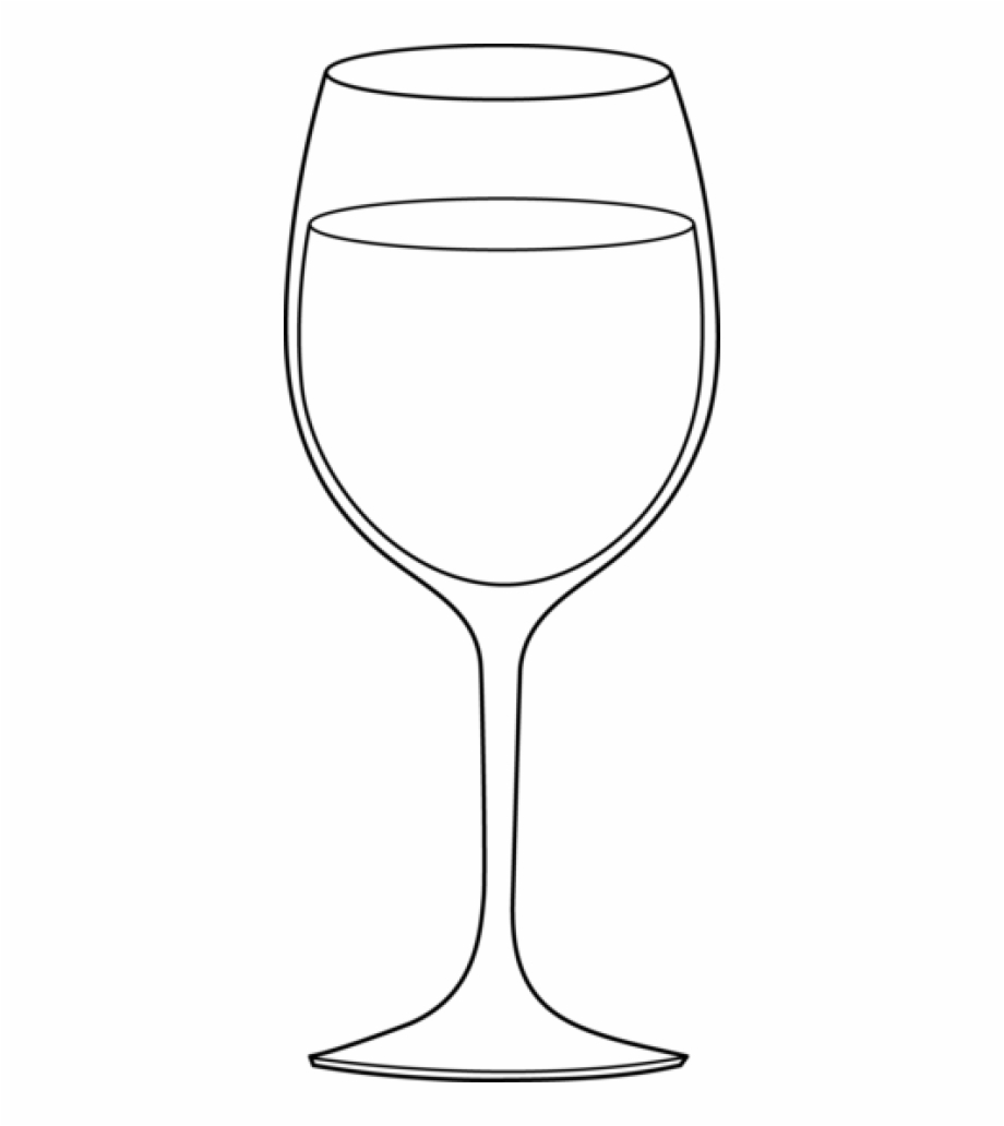 Clipart black and white drink glass png banner freeuse library Wine Glass Black White Clipart - Glass Clipart Black And White Free ... banner freeuse library