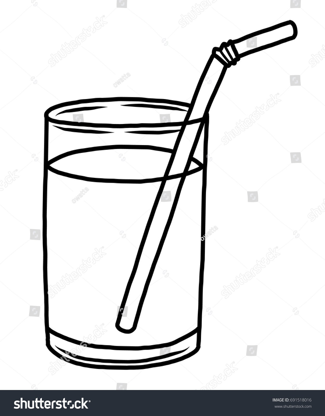 Glass of water black and white clipart clip freeuse stock Water in a glass clipart black and white 6 » Clipart Portal clip freeuse stock