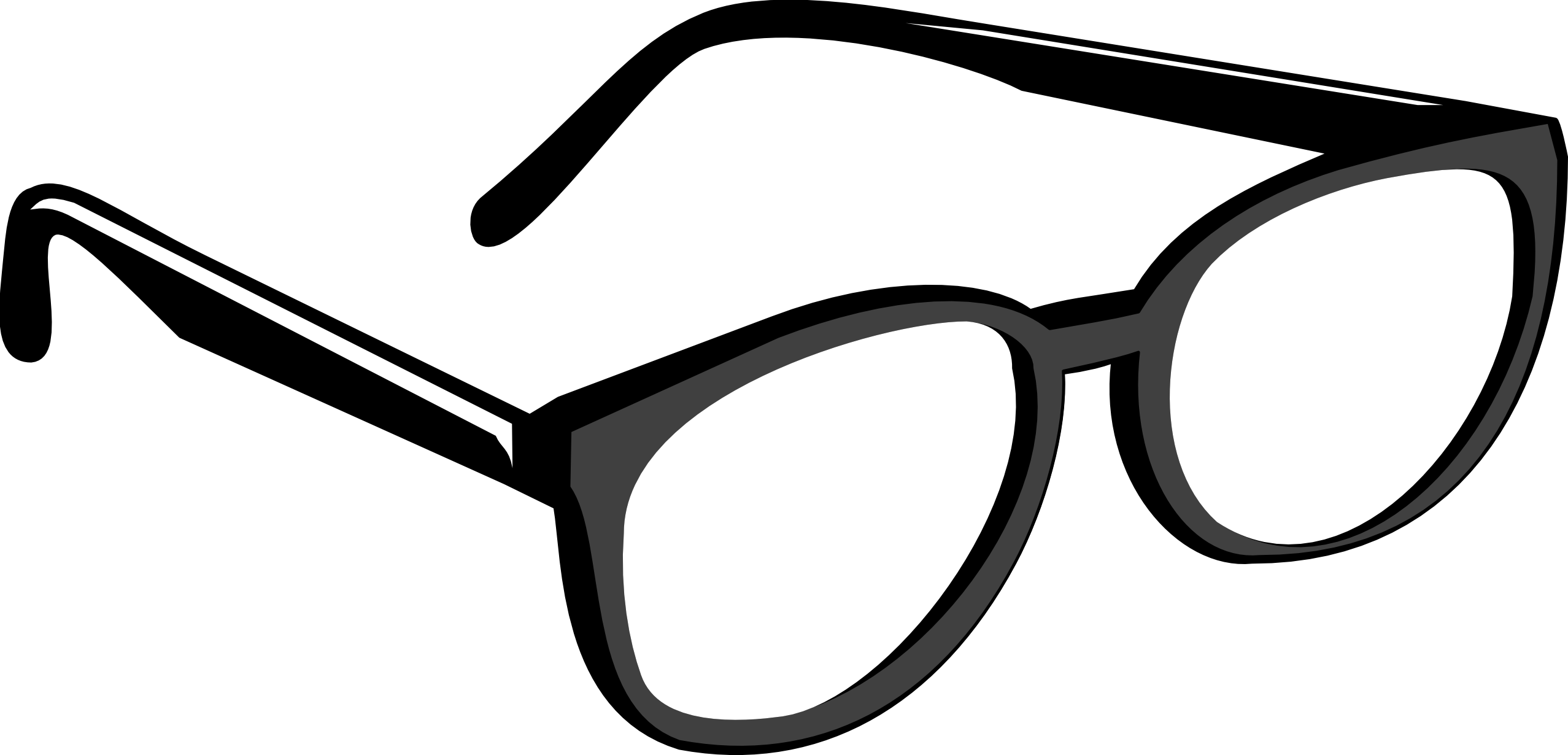 Real glasses clipart jpg free download Glasses Clipart Black And White | Clipart Panda - Free Clipart Images jpg free download