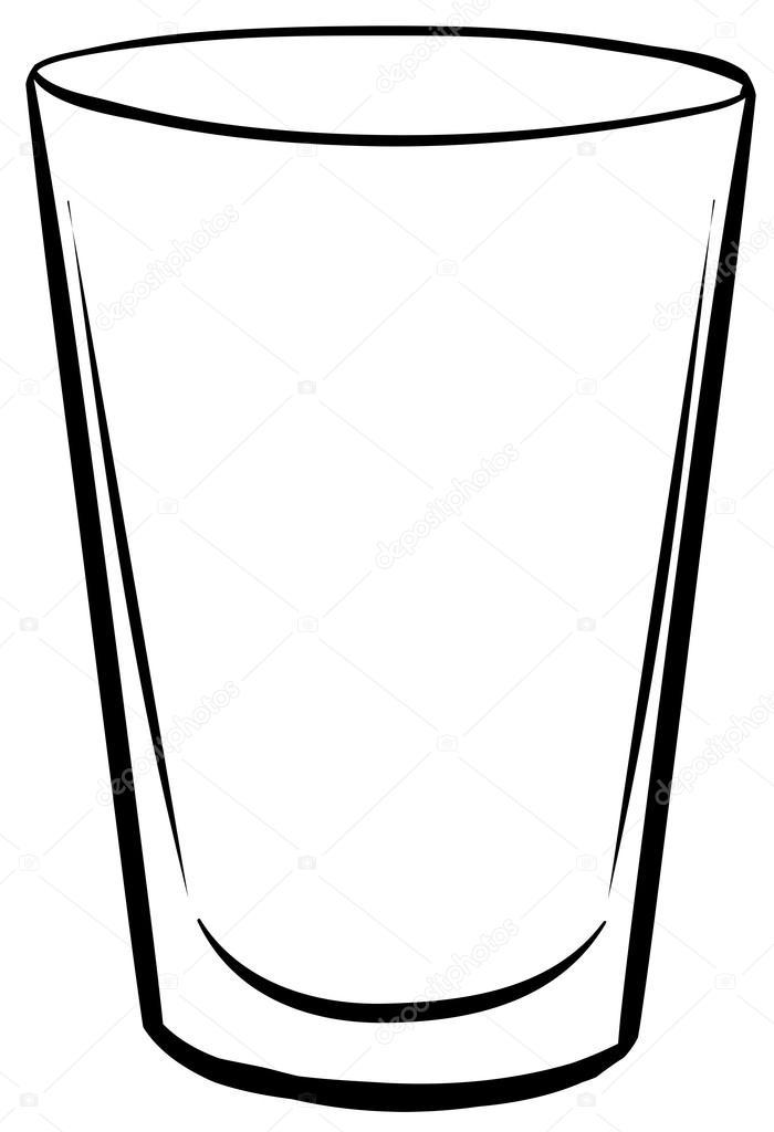 Black and white clipart glass svg royalty free stock Glass black and white clipart 5 » Clipart Portal svg royalty free stock