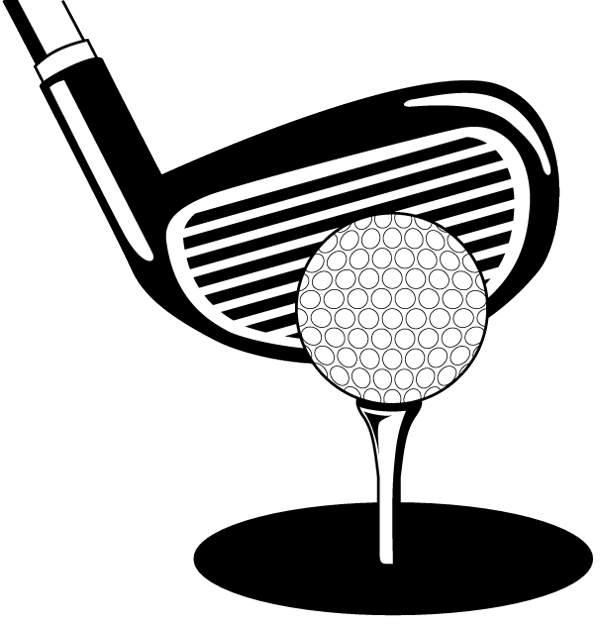 Clipart of person scrambling to look for something png black and white stock Free Black And White Golf Photos, Download Free Clip Art, Free Clip ... png black and white stock