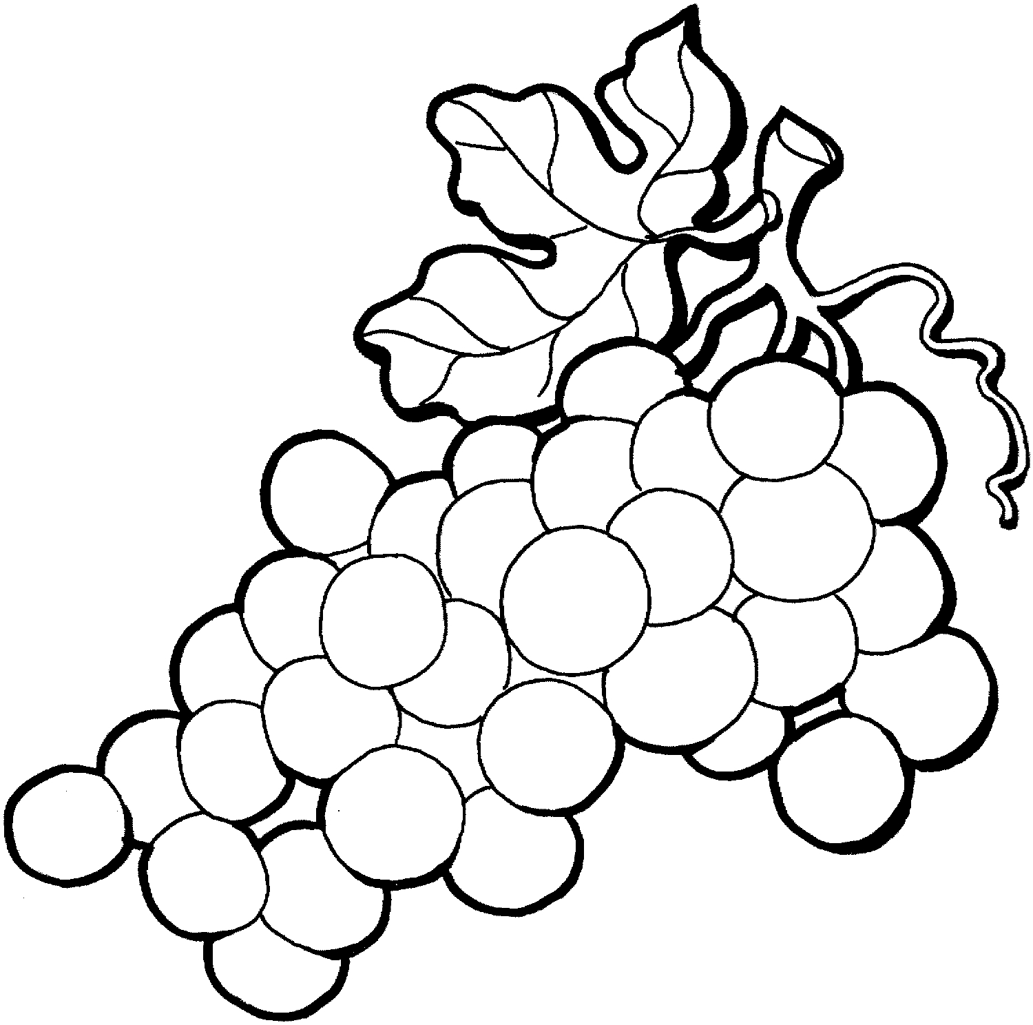 Black and white clipart grapes clip library stock Grapes clipart black and white Beautiful Grape clipart black and ... clip library stock