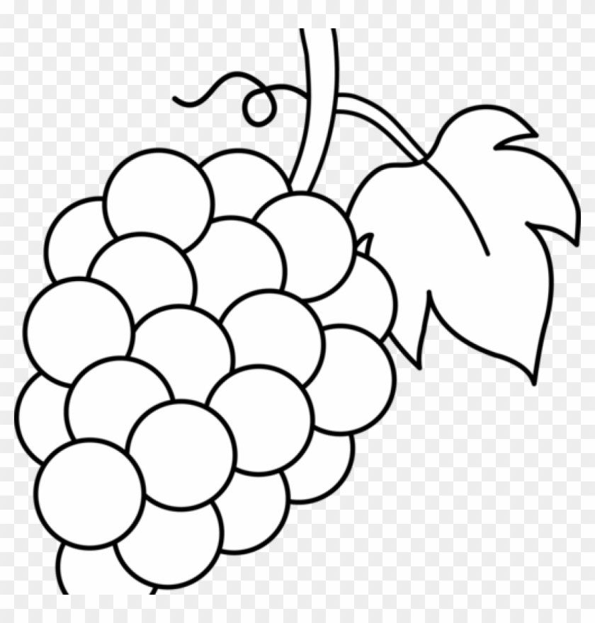 Black and white clipart grapes free library Clipart grapes black and white » Clipart Portal free library