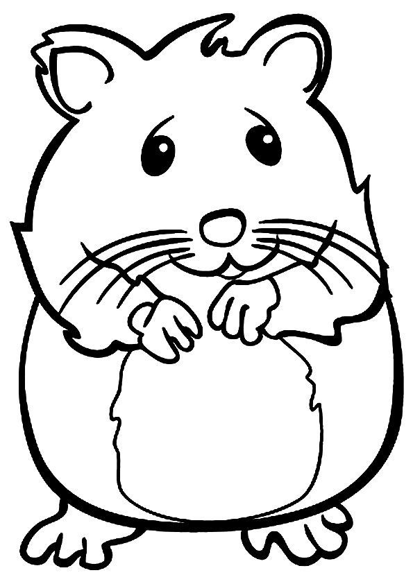 Black hamster clipart png freeuse stock Hamster clipart black and white 5 » Clipart Portal png freeuse stock
