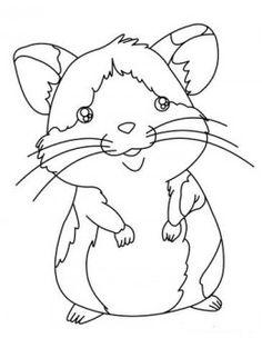 Black hamster clipart jpg download Hamster clipart black and white 2 » Clipart Station jpg download