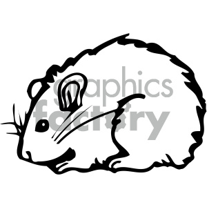 cartoon clipart mouse 011 bw . Royalty-free clipart # 404835 clipart