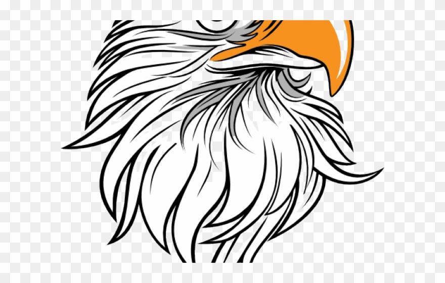 Black and white clipart head clip free download Drawn Bald Eagle Large Eagle - Eagle Head Side Black And White ... clip free download
