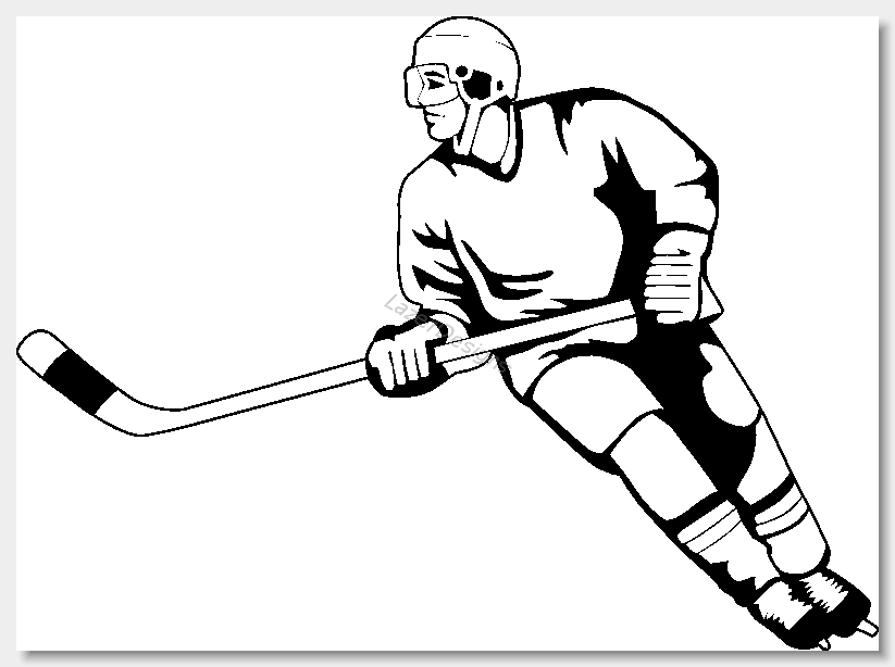 Hockey player clipart free image royalty free stock Ice hockey clip art clipart 3 - ClipartBarn image royalty free stock
