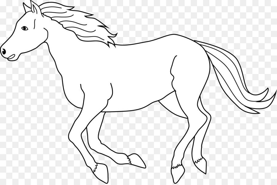 Black and white clipart horse clip art black and white download Book Black And White clipart - Horse, transparent clip art clip art black and white download