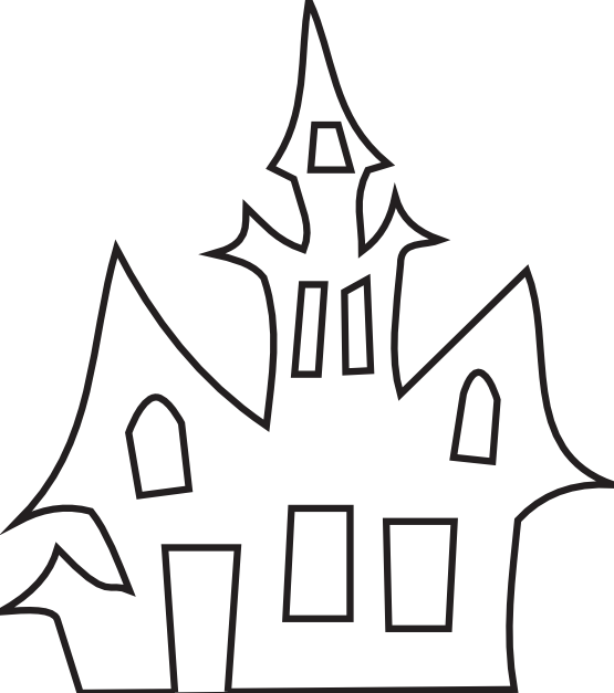 Black and white haunted house clipart clip art free download clipartist.net » Clip Art » Haunted House Black White Art Boaz ... clip art free download