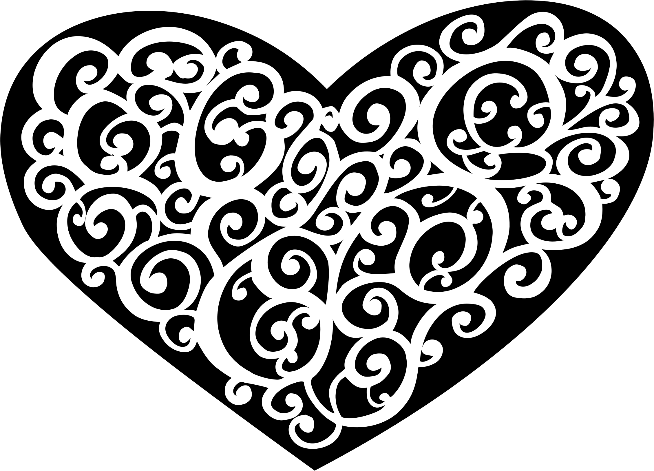 Heart Line Drawing Clip Art at GetDrawings.com | Free for personal ... vector stock