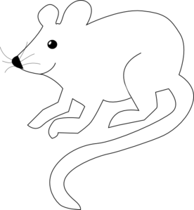 White mouse clipart png banner black and white download Rat Clipart Black And White | Clipart Panda - Free Clipart Images banner black and white download