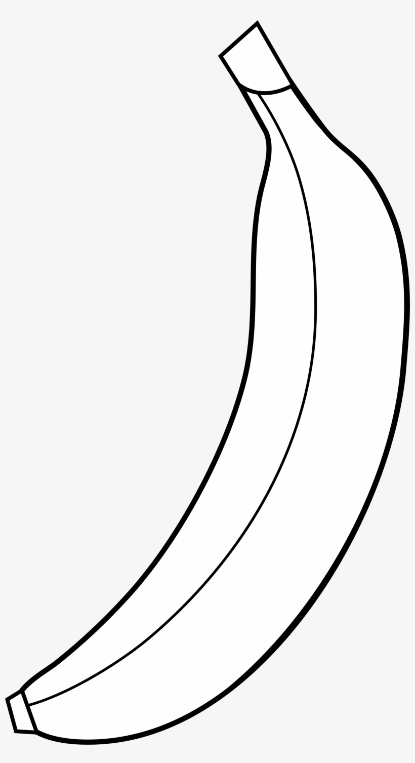 Black and white clipart images of banana vector transparent stock Banana Clipart 5 Image Clipartcow - Black And White Clipart Of A ... vector transparent stock