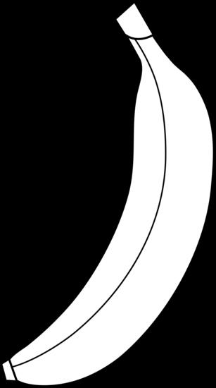 Black and white clipart images of banana jpg free stock Banana Clipart Black And White | Clipart Panda - Free Clipart Images jpg free stock