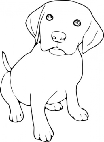 Clipart black and white picture of dog svg royalty free stock Dog black and white clip art black and white dogs 3 clipart 2 ... svg royalty free stock
