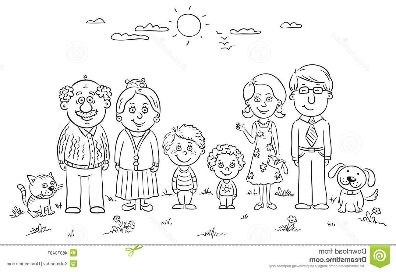Big family clipart black and white clipart black and white Black and white family clipart 3 » Clipart Station clipart black and white