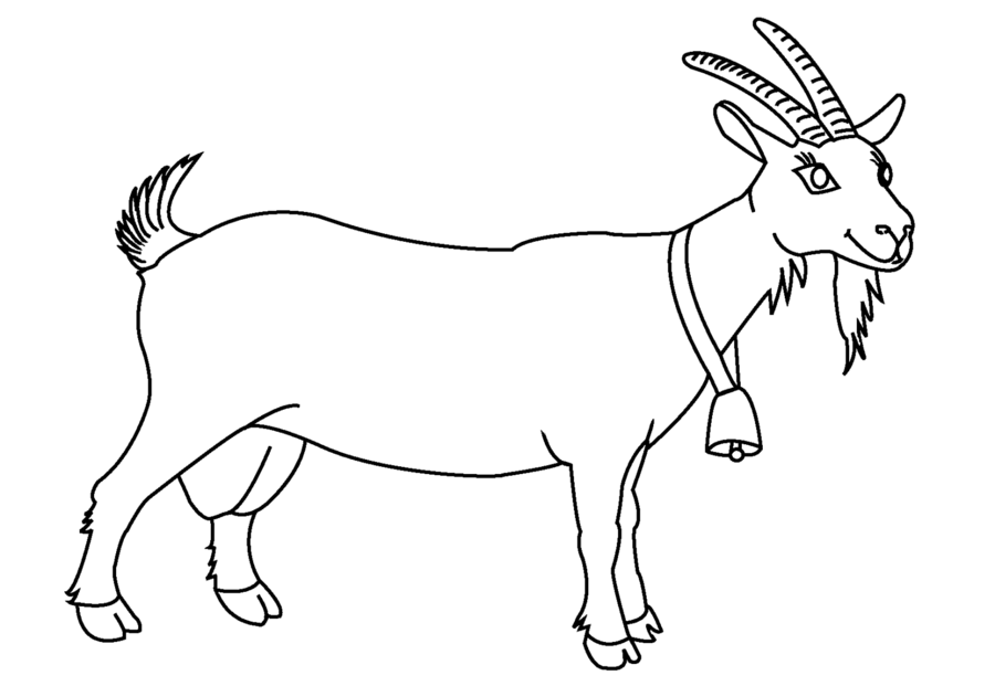 Black and white clipart images of goat graphic library Book Black And White clipart - Goat, Drawing, Goats, transparent ... graphic library
