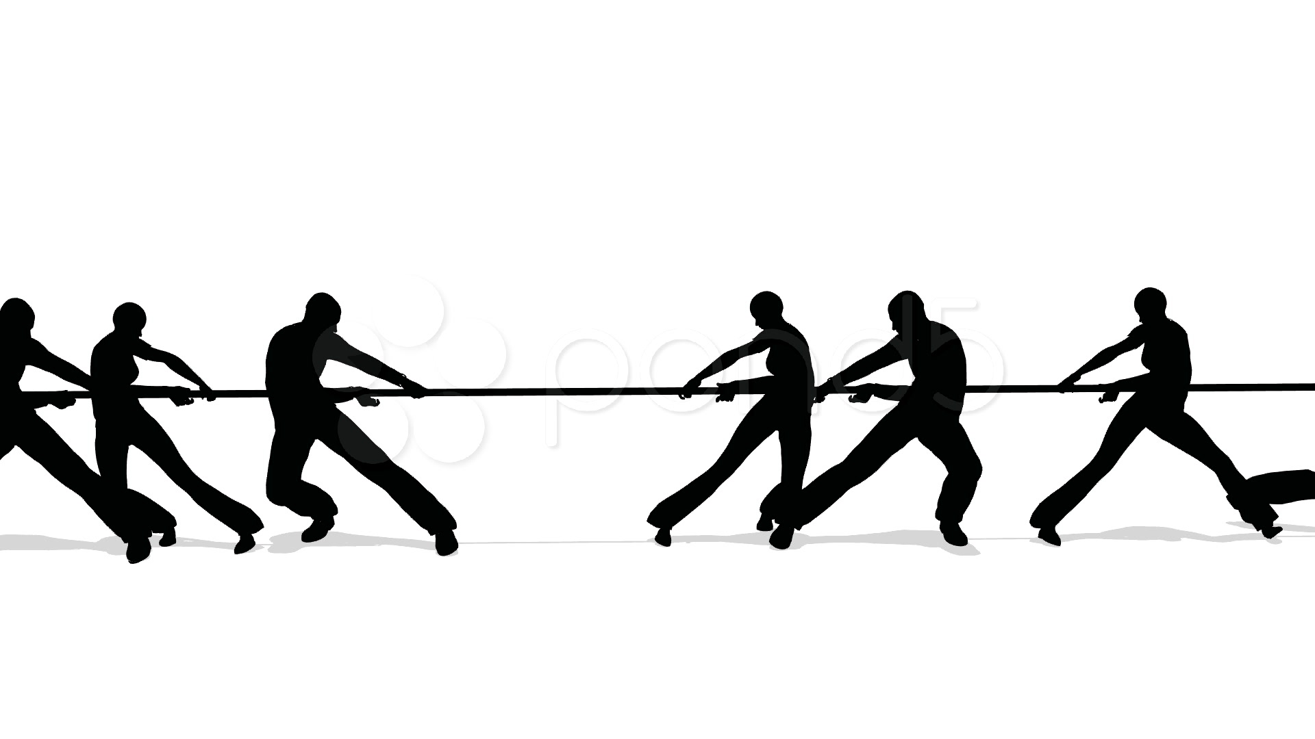 Tug Of War PNG Black And White Transparent Tug Of War Black And ... banner library