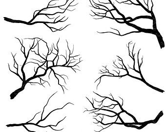 Black and white winter birch tree clipart black and white A Black And White Version Of Two Birds On A Tree Branch Singin - 357 ... black and white