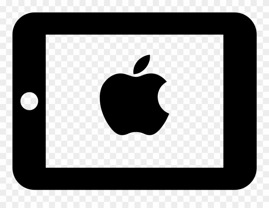 Black and white clipart ipad picture transparent library Ipad Mini Icon Clipart (#2726417) - PinClipart picture transparent library