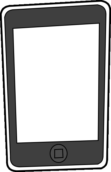 Black and white clipart ipad vector freeuse Free IPad Cliparts, Download Free Clip Art, Free Clip Art on Clipart ... vector freeuse