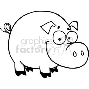 Black and white clipart jesus and the pigs graphic freeuse library Farm pig clipart. Royalty-free GIF, JPG, PNG, EPS clipart # 374740 ... graphic freeuse library