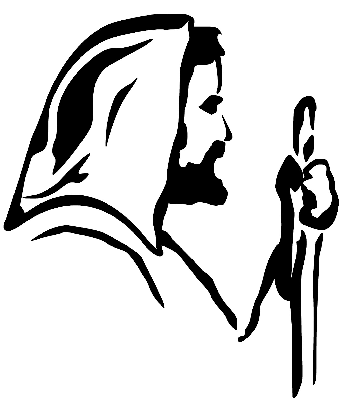 Jesus cliparts . Free christ coming to america clipart black and white