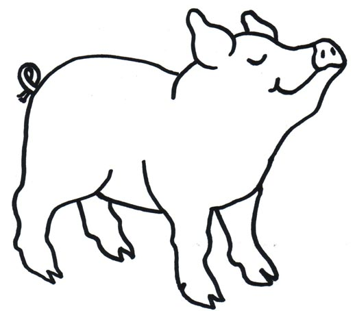 Black and white clipart jesus and the pigs clipart black and white library Free Pig In Mud Clipart, Download Free Clip Art, Free Clip Art on ... clipart black and white library