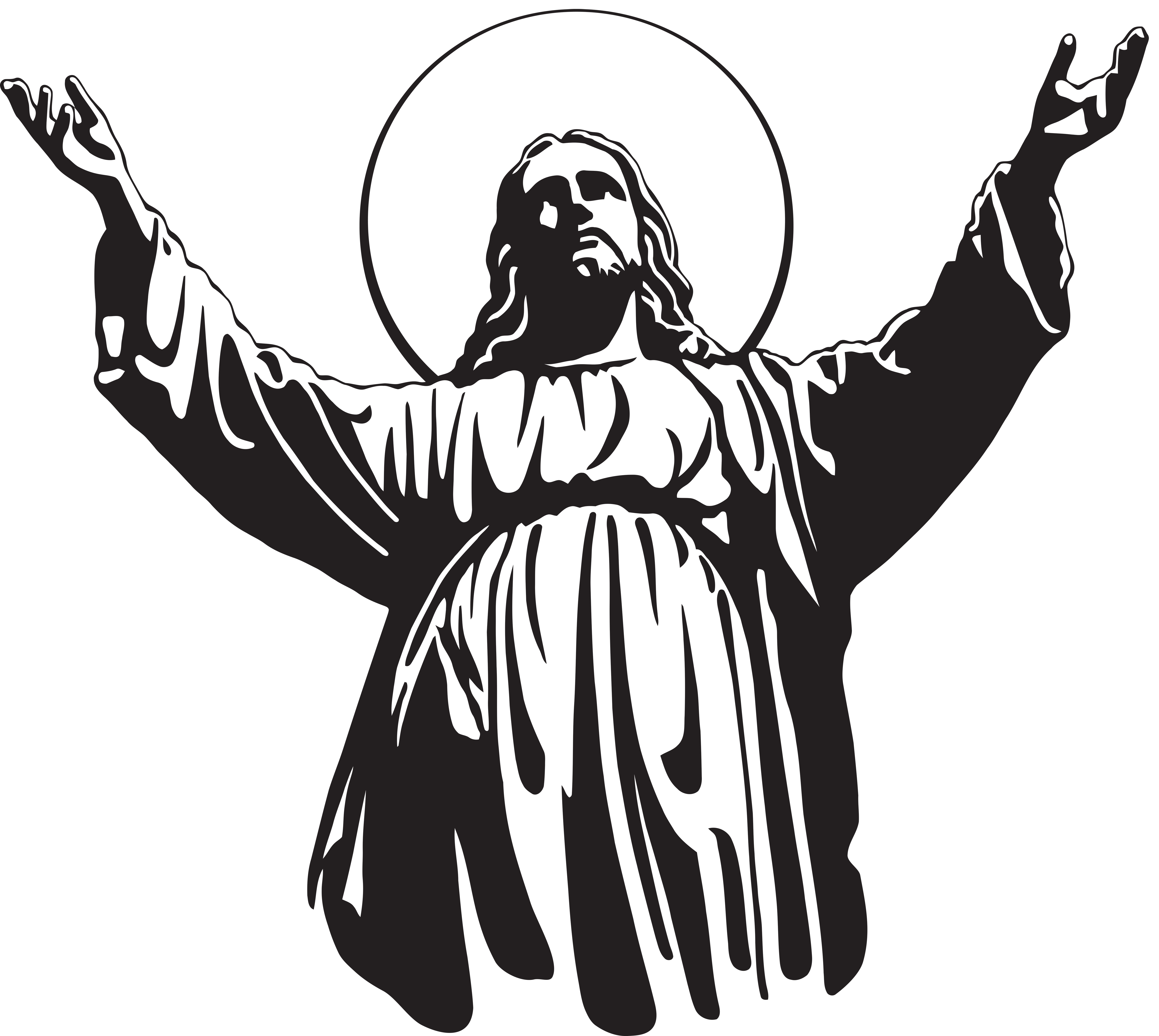 Jesus Christ Son of God PNG Clip Art | Churches & Religious ... vector free stock
